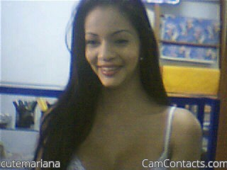 Start VIDEO CHAT with cutemariana