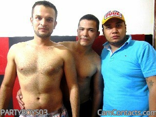 Start VIDEO CHAT with PARTYBOYS03
