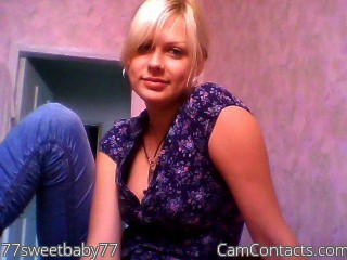 Start VIDEO CHAT with 77sweetbaby77