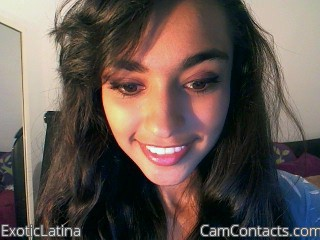 Start VIDEO CHAT with ExoticLatina