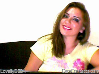 Start VIDEO CHAT with LovellyDEEA