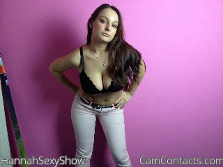 Start VIDEO CHAT with HannahSexyShow