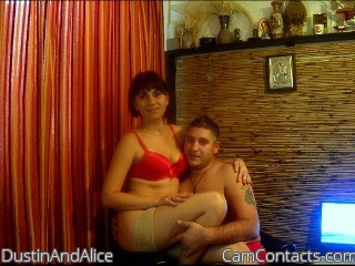 Start VIDEO CHAT with DustinAndAlice