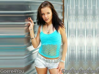 Start VIDEO CHAT with Goere4You