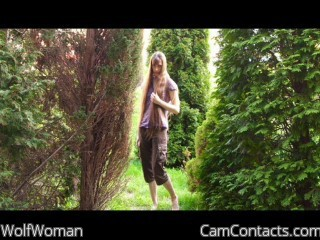 Start VIDEO CHAT with WolfWoman