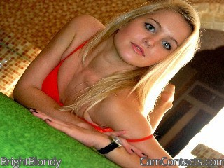Start VIDEO CHAT with BrightBlondy