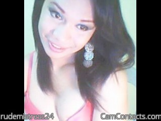 Start VIDEO CHAT with rudemistress24