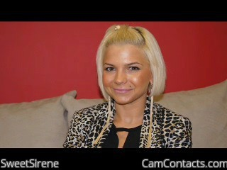 Start VIDEO CHAT with SweetSirene