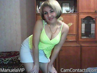 Start VIDEO CHAT with ManuelaVIP