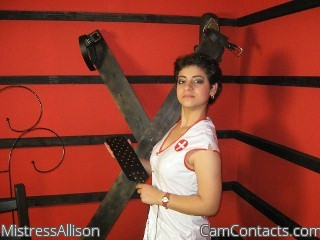 Start VIDEO CHAT with MistressAllison