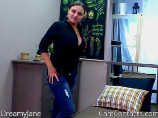 Start VIDEO CHAT with DreamyJane