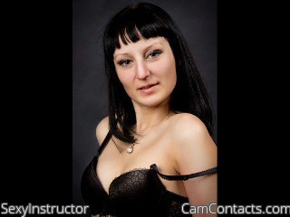 Start VIDEO CHAT with SexyInstructor