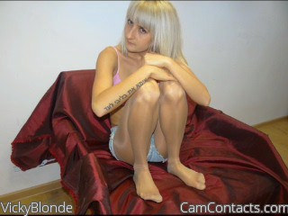 Start VIDEO CHAT with VickyBlonde