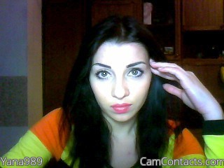 Start VIDEO CHAT with Yana989