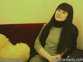 Start VIDEO CHAT with PurpleValery