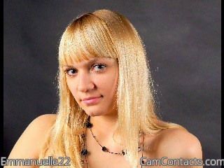 Start VIDEO CHAT with Emmanuelle22