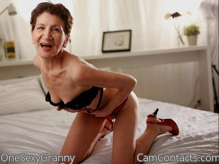 Start VIDEO CHAT with OneSexyGranny