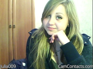 Start VIDEO CHAT with Julia009
