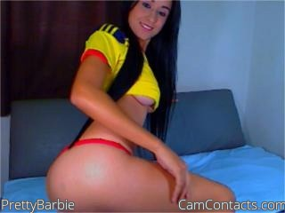 Start VIDEO CHAT with PrettyBarbie