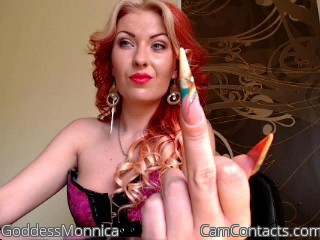 Start VIDEO CHAT with GoddessMonnica