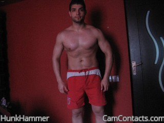 Start VIDEO CHAT with HunkHammer