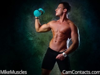 Start VIDEO CHAT with MikeMuscles