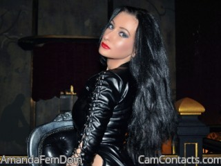 Start VIDEO CHAT with AmandaFemDom