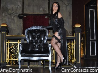 Start VIDEO CHAT with AmyDominatrix