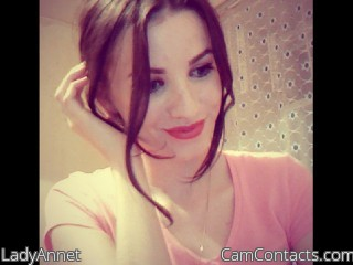 Start VIDEO CHAT with LadyAnnet