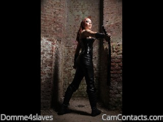 Start VIDEO CHAT with Domme4slaves