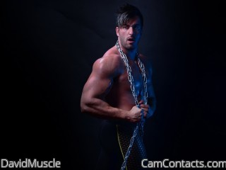 Start VIDEO CHAT with DavidMuscle