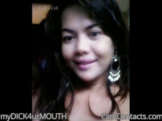 Start VIDEO CHAT with myDICK4urMOUTH