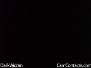 Start VIDEO CHAT with DarkWiccan