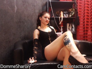 Start VIDEO CHAT with DommeSharon