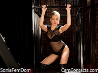 Start VIDEO CHAT with SoniaFemDom