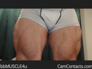 Start VIDEO CHAT with bbMUSCLE4u