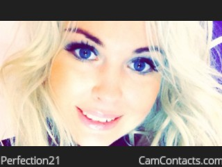 Start VIDEO CHAT with Perfection21