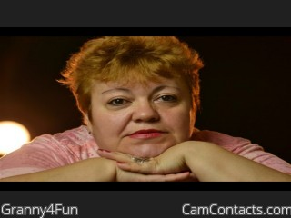 Start VIDEO CHAT with Granny4Fun