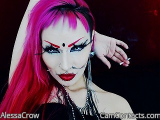 Start VIDEO CHAT with AlessaCrow