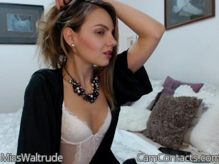 Start VIDEO CHAT with MissWaltrude