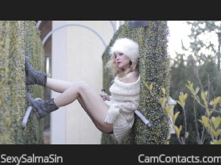 Start VIDEO CHAT with SexySalmaSin