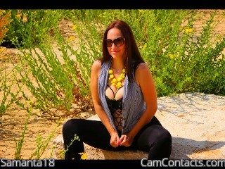 Start VIDEO CHAT with Samanta18