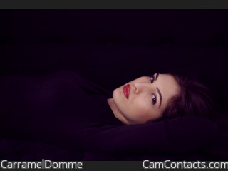Start VIDEO CHAT with CarramelDomme