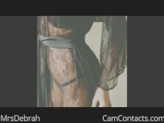 MrsDebrah's profile