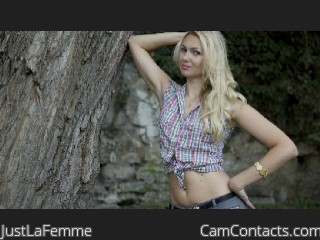 web girl JustLaFemme