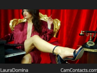 Start VIDEO CHAT with LauraDomina