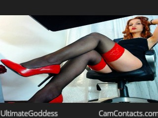 Start VIDEO CHAT with UltimateGoddess