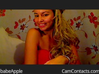Start VIDEO CHAT with babeApple