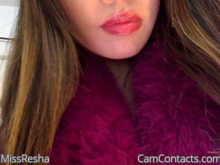 Start VIDEO CHAT with MissResha