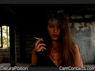 DaturaPoison's profile